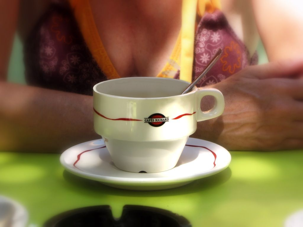 Coffee Break Coffee Time Coffee Cup And Saucer