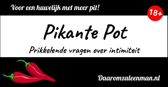 Praten over seks: Pikante Pot Etiket